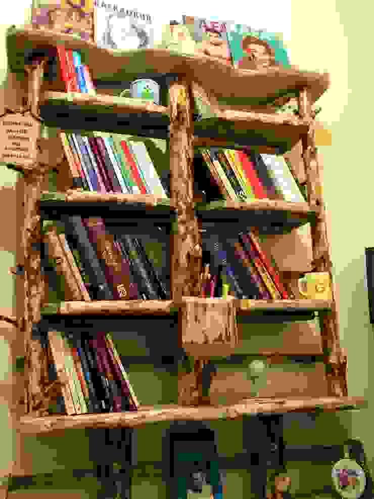 kitaplık Coşkun Ahşap Dekorasyon Rustik Ahşap Ahşap rengi