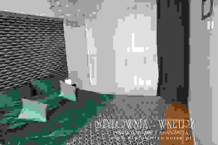 Stylownia Wnętrz Modern style bedroom MDF White