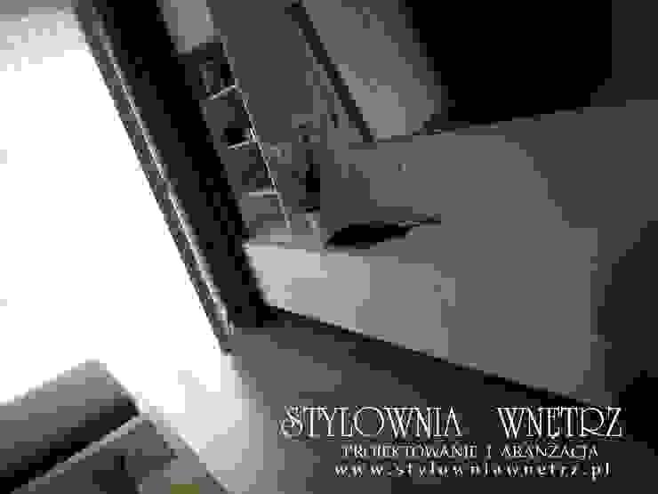 Stylownia Wnętrz Modern living room MDF White
