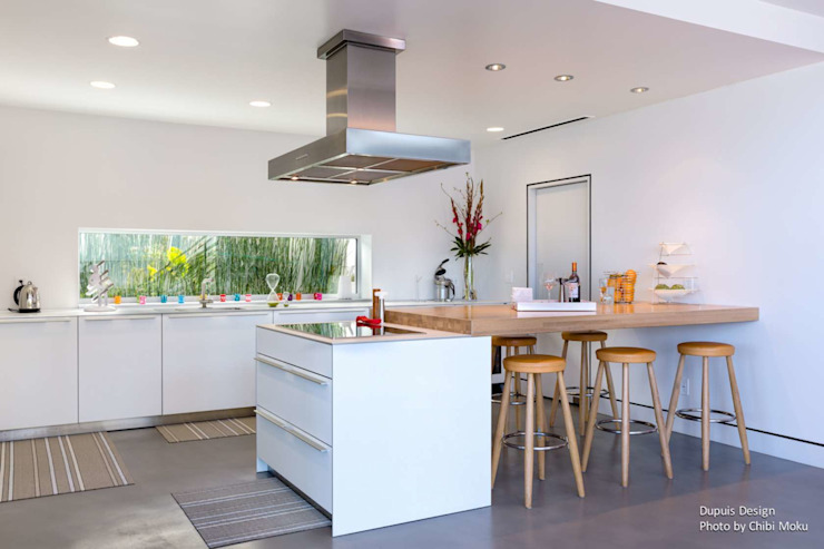 Modern kitchen by Chibi Moku Modern Concrete
