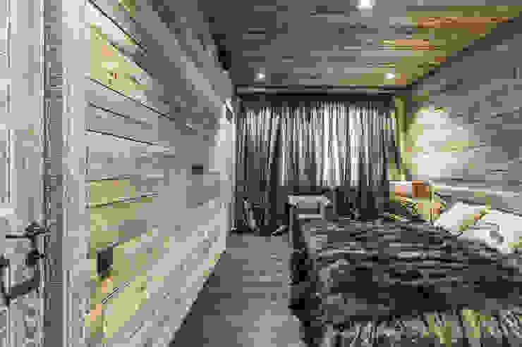 Rustic style bedroom by Дизайн Мира Rustic