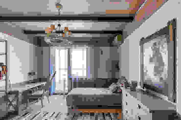 Dormitorios de estilo rústico de Дизайн Мира Rústico