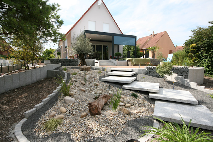 Jardines de estilo  por Schwein Aménagement, Moderno