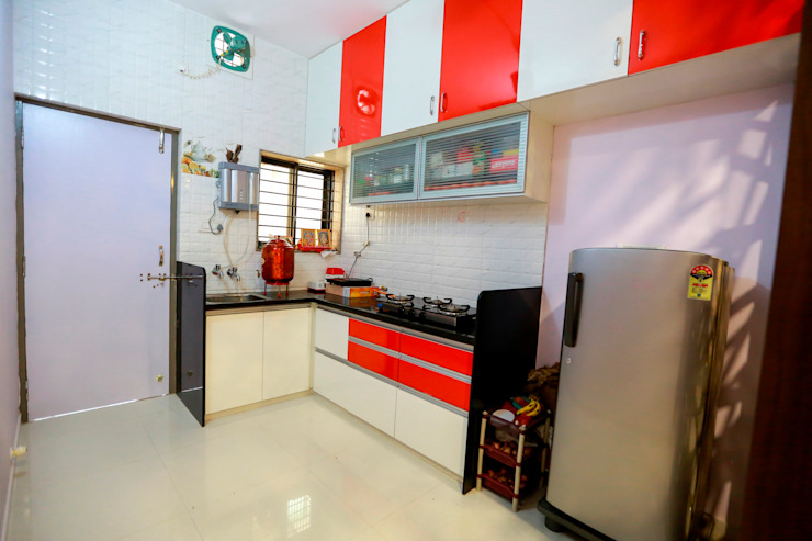 Kitchen ZEAL Arch Designs Modern kitchen
