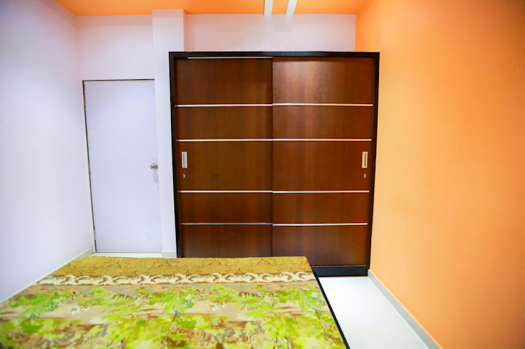 Wardrobe Modern style bedroom by ZEAL Arch Designs Modern