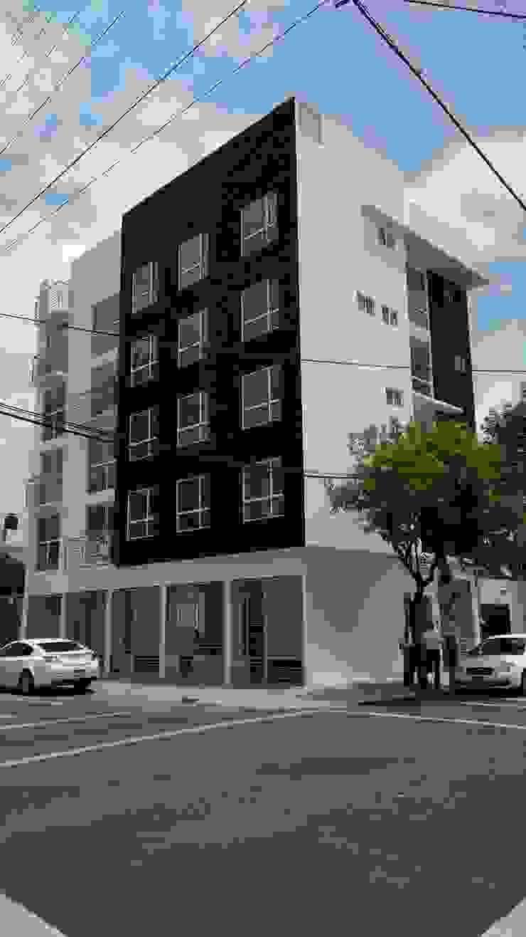 Gómez Farías Casas minimalistas de DYE-ARQUITECTURA Minimalista