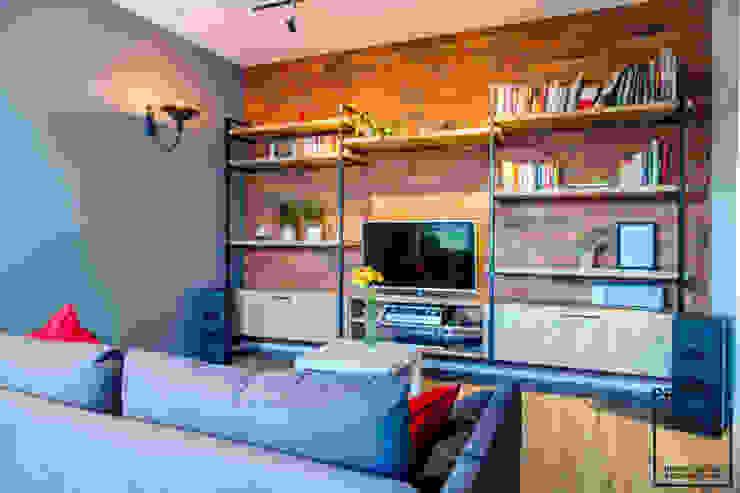 Perfect Space Ruang Keluarga Gaya Industrial