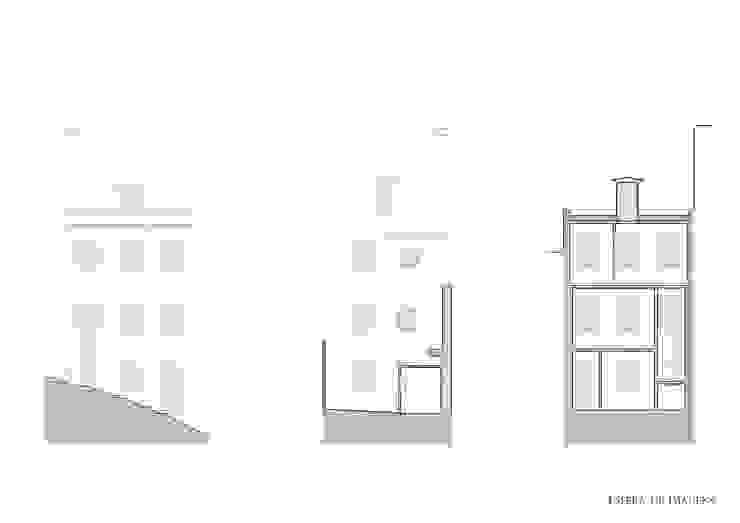 Edifício nas Escadinhas Damasceno Monteiro, em Lisboa por Esfera de Imagens Lda