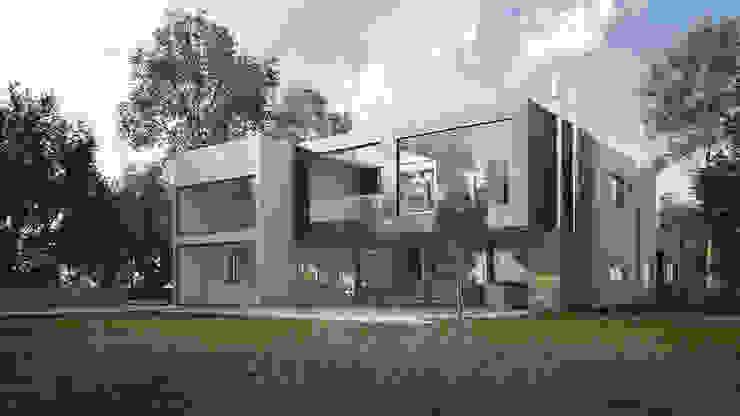 Casas de estilo minimalista de homify Minimalista Piedra