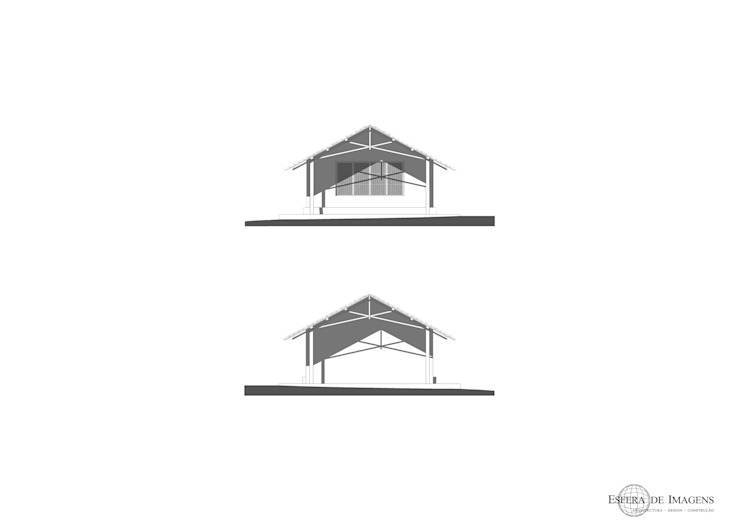 Biblioteca para Escola de Impire — em Impire, Cabo Delgado, Moçambique. por Esfera de Imagens Lda