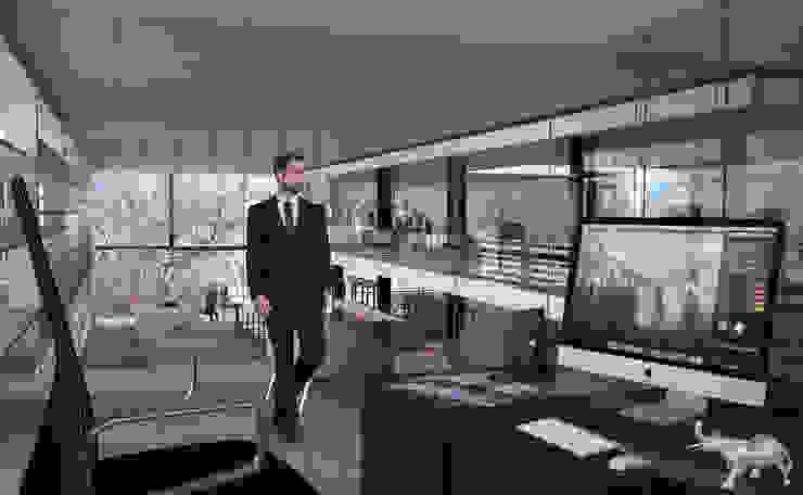 Interior de la tienda Estudios y despachos modernos de Arquitectos M253 Moderno