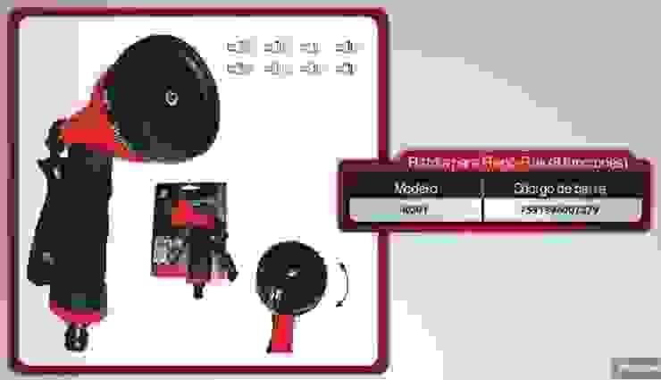 Sistemas de Riego:  de estilo industrial por Fumitienda, Industrial