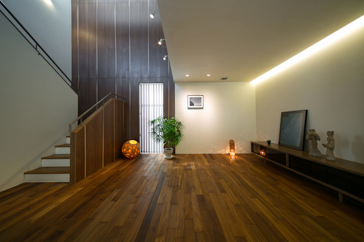 Modern living room by アーキシップス京都 Modern Wood Wood effect