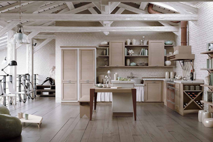 Vintage Kitchen: country  by Casa Più Arredamenti, Country