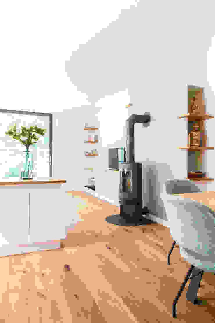 Moderne Wohnzimmer von Woon Architecten Modern