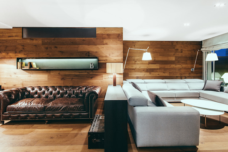 dom arquitectura Modern Living Room