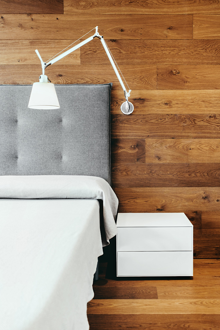 Modern style bedroom by dom arquitectura Modern