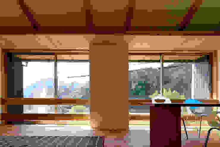 M邸ー大きな窓の家 ミニマルな 窓&ドア の C-design吉内建築アトリエ ミニマル