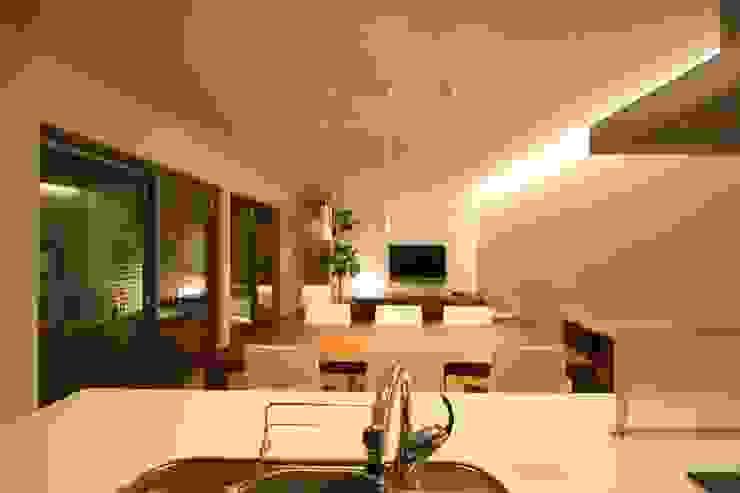 Modern Dining Room by C-design吉内建築アトリエ Modern