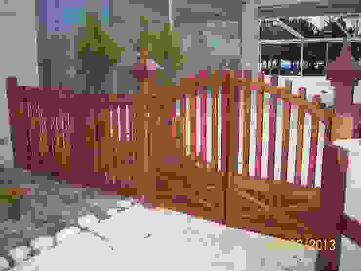Gürsoy Kerestecilik GartenZäune und Sichtschutzwände Holz Holznachbildung