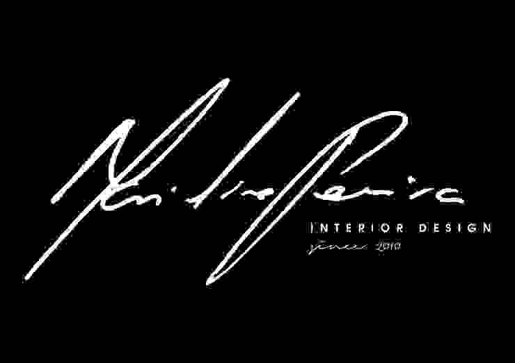 logotipo por Mariline Pereira - Interior Design Lda. Minimalista