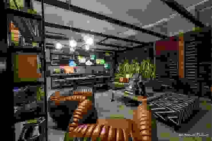 Rafaela Dal'Maso Arquitetura Modern Living Room