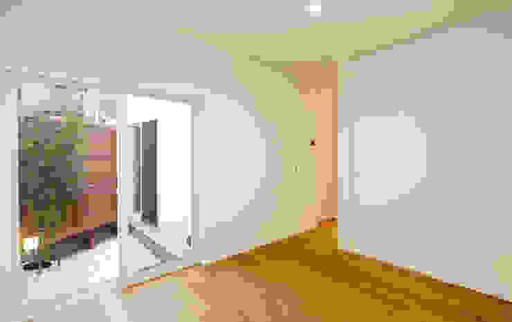 「」の家: 株式会社Fit建築設計事務所が手掛けた寝室です。