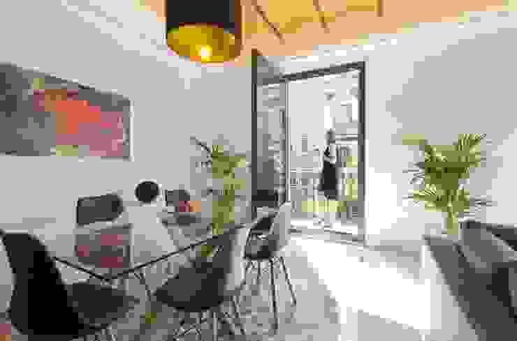 IPUSA obras y servicios Mediterranean style dining room