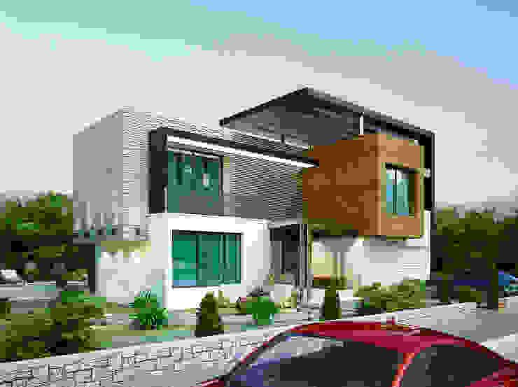 Casas modernas de Benid Mimarlık Bürosu Moderno