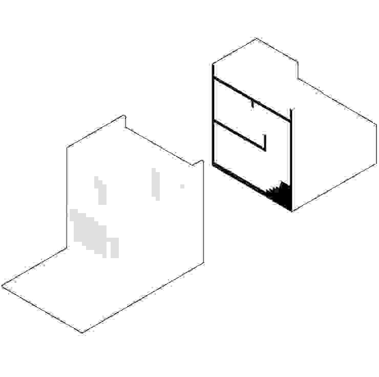 Viviendas San Ignacio de IX2 arquitectura Moderno