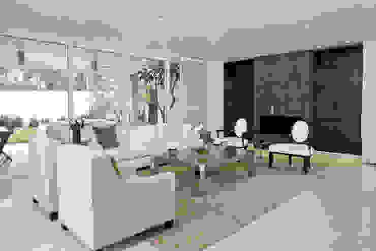 Casa LH Salones modernos de IX2 arquitectura Moderno