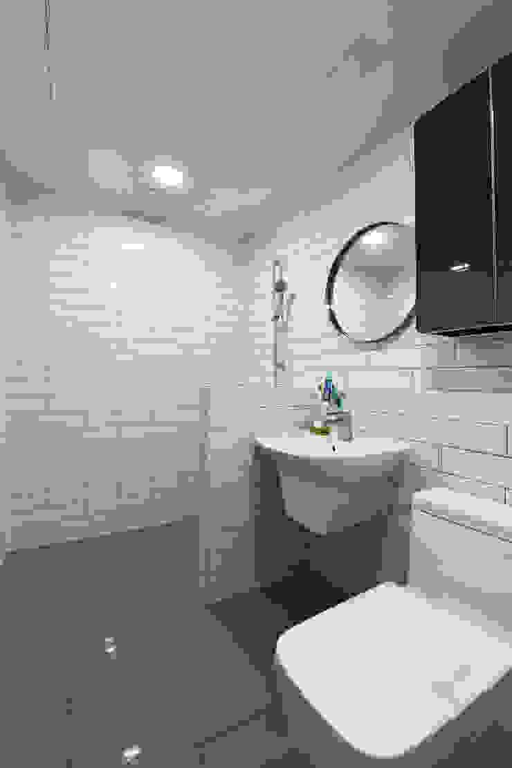 인천 심곡동 광명아파트 78㎡ 신혼부부댁 모던스타일 욕실 by 진플랜 모던