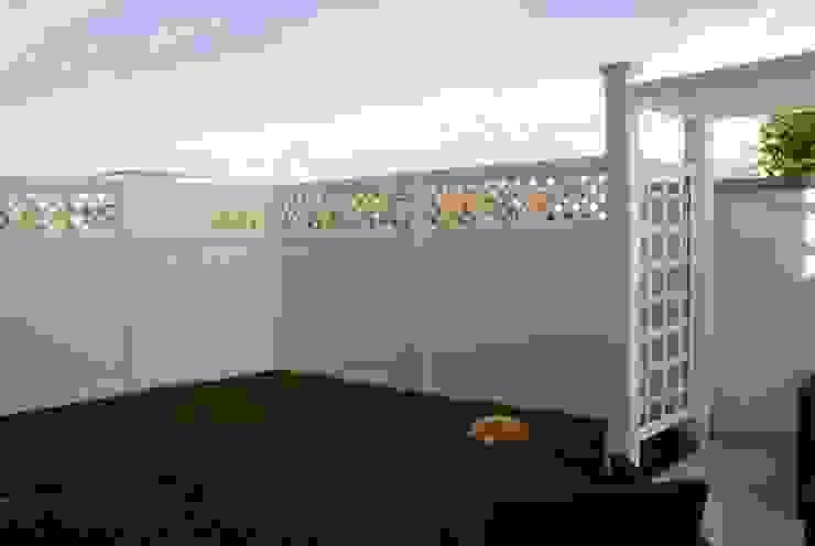 TOP FENCE s.c. Garden Fencing & walls Plastic White