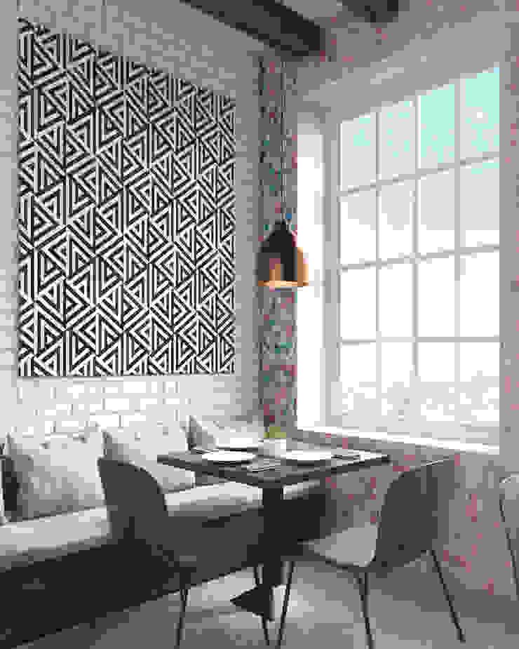 Abstract triangles Moderne Wände & Böden von Pixers Modern