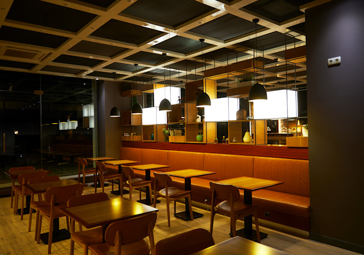 İndeko İç Mimari ve Tasarım Modern gastronomy
