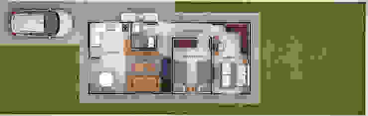 Projeto Residencial RDE por Lozí - Projeto e Obra