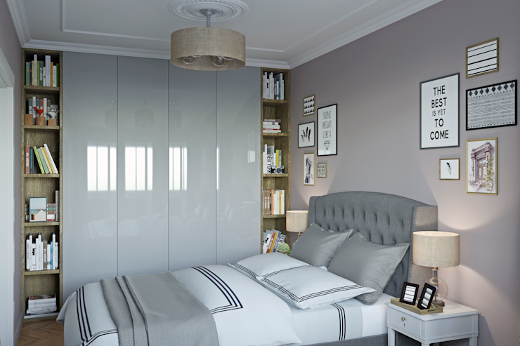 Eclectic style bedroom by Tim Gabriel Design Eclectic
