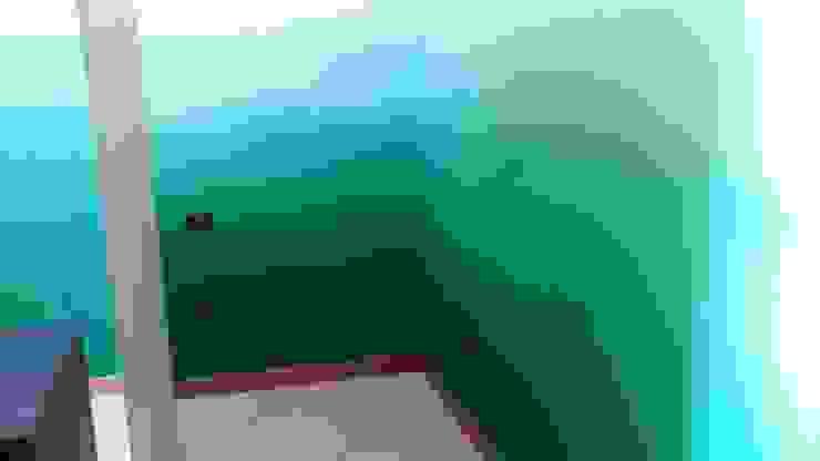 Una camera effetto natura Interno5 Camera da letto in stile classico Verde
