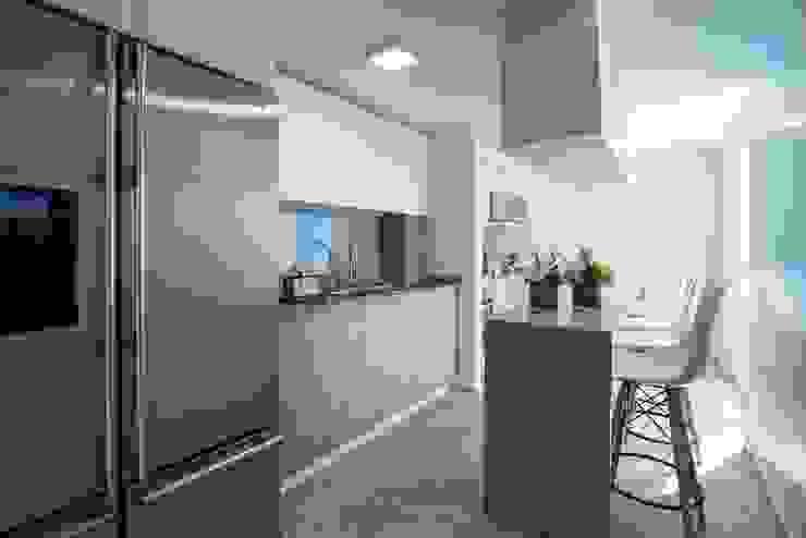 Cocinas de estilo  de HO arquitectura de interiores, Moderno