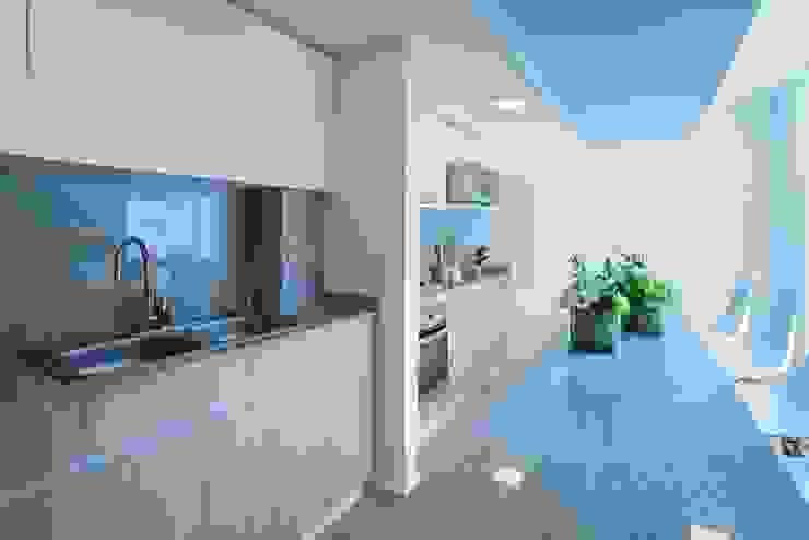 HO arquitectura de interiores Moderne Küchen