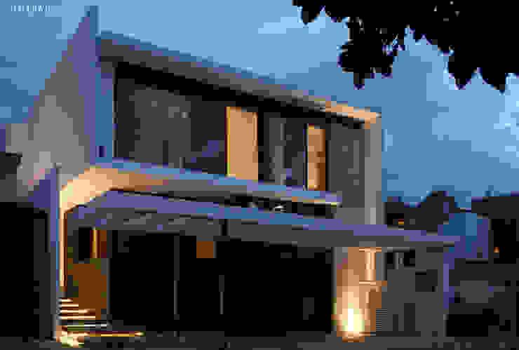 casaNE Casas modernas de BAG arquitectura Moderno Concreto