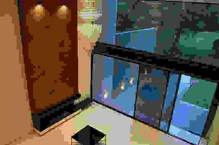 casaNE Salones modernos de BAG arquitectura Moderno Madera Acabado en madera