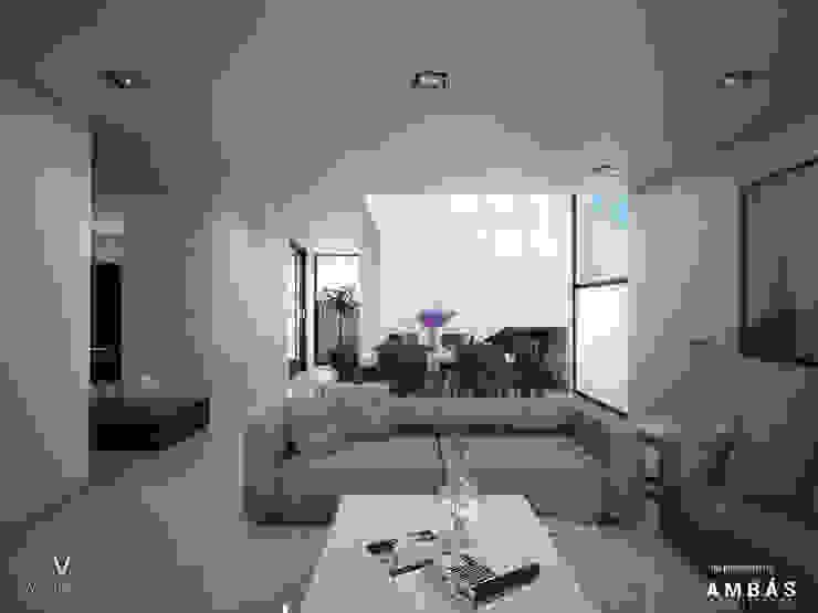 Sala Livings de estilo moderno de Ambás Arquitectos Moderno