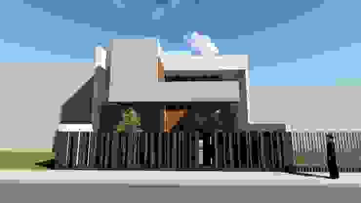 ESTUDIOMORENATE Modern houses