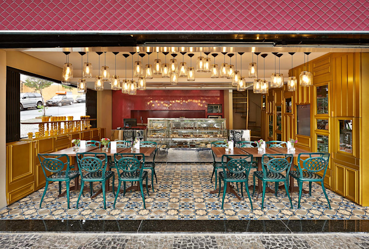 David Guerra Arquitetura e Interiores Gastronomía de estilo tropical