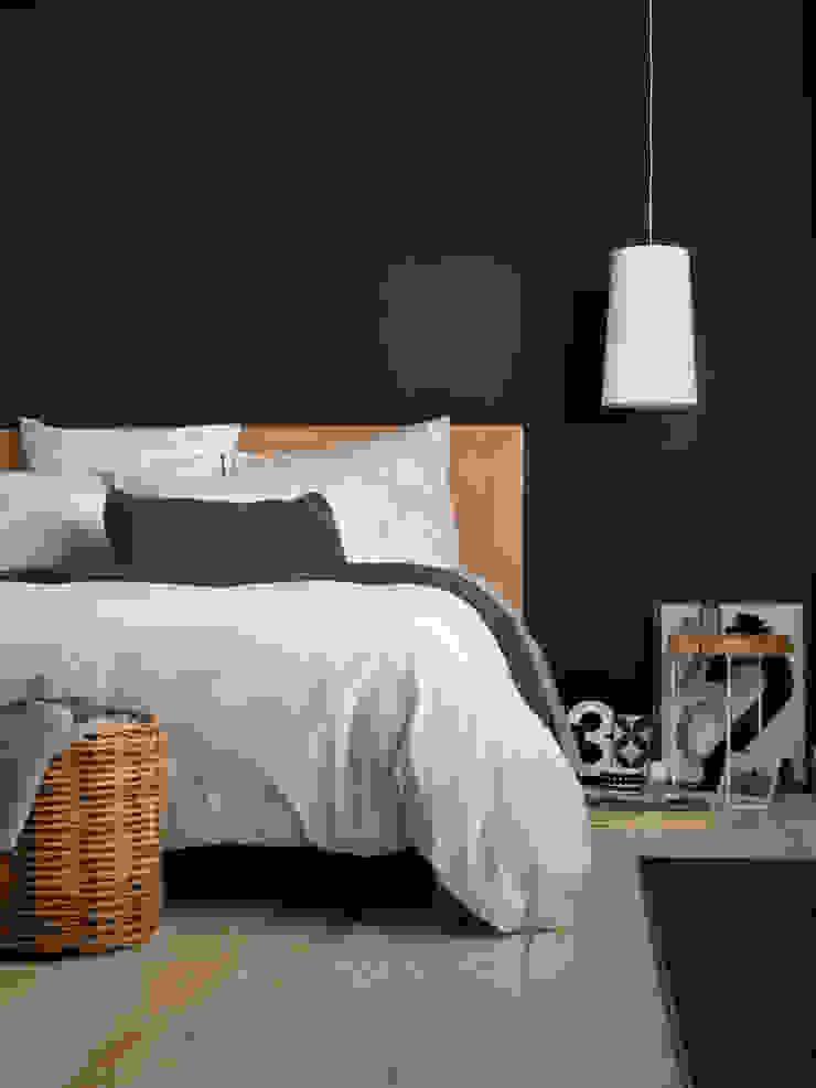 Tiny Stripe Graphite Grey Bedding Set Secret Linen Store BedroomAccessories & decoration Cotton Grey