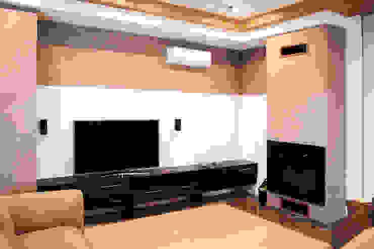 АРХИФАБРИКА Modern living room
