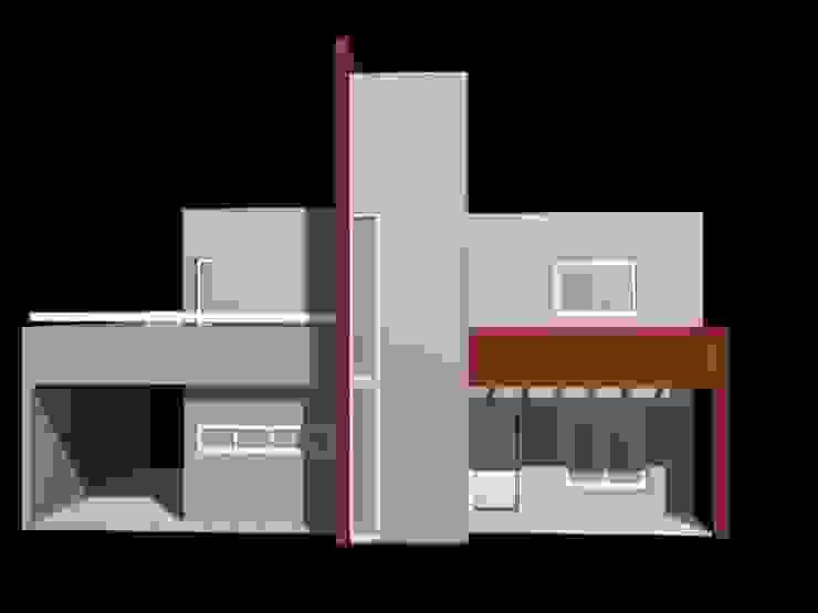 Modern houses by ARQUITECTA CARINA BASSINO Modern