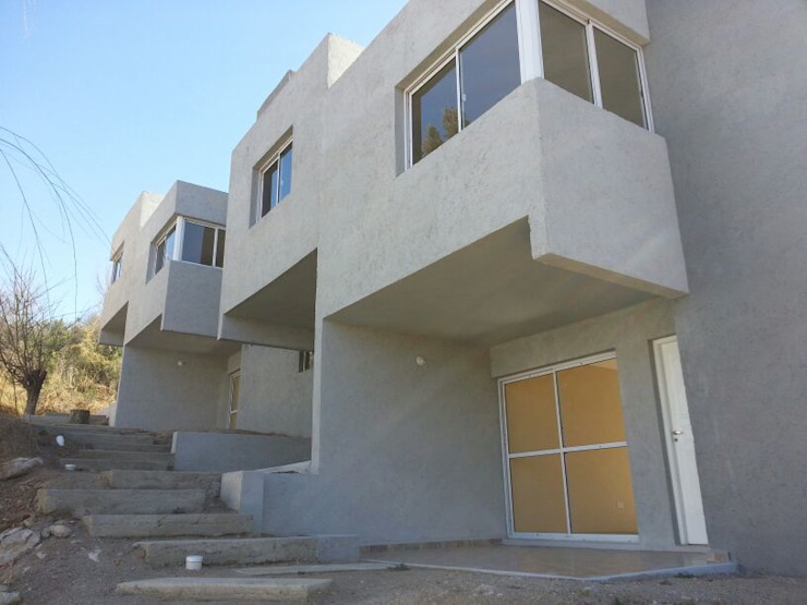Complejo Duplex: Casas de estilo  por ARQUITECTA CARINA BASSINO,Moderno