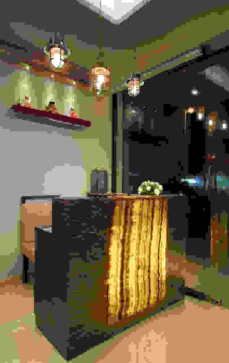 Restaurant Reception Area by SS Designs Modern